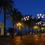 Nerja Christmas Lights Turned On