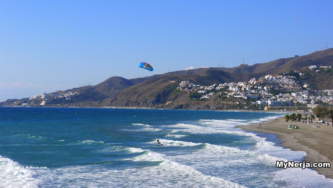 Kite Surfer Nerja