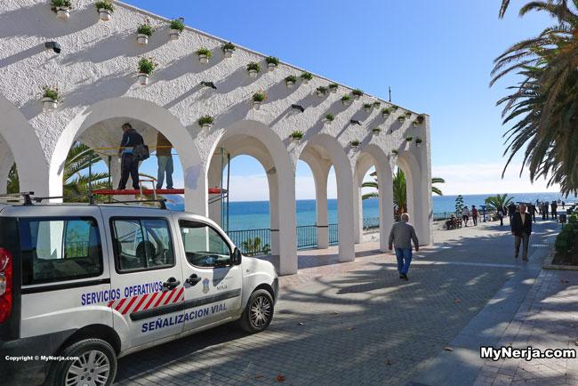 Balcon de Europa Painting