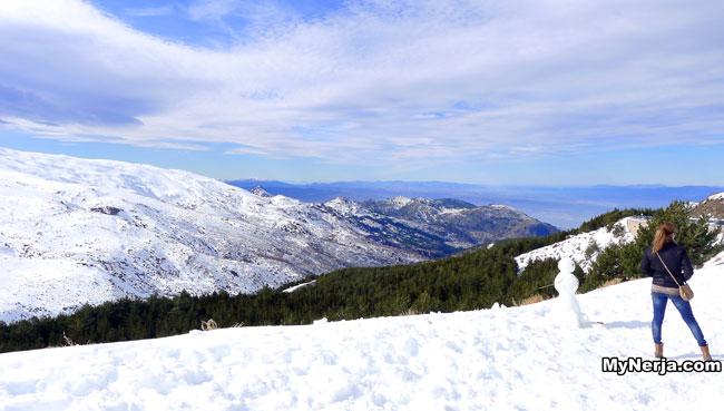 Sierra Nevada Snowman