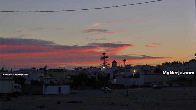 Sunset Nerja San Salvador