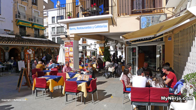 Balcon de Europa Cafes