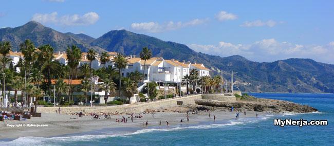 Torrecilla Beach Nerja