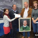 Norwegian Artist Raises €1600 For Nerja Charity