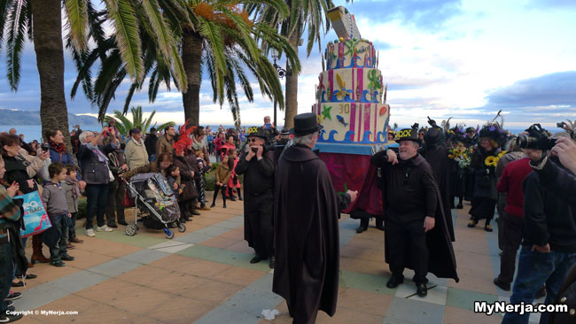Burial of the Sardine Nerja - Entiero del Chanquete 2014
