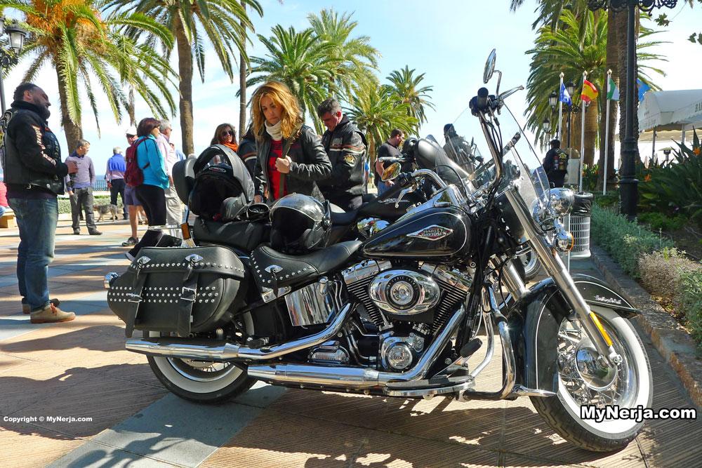Harley Davidson Balcon de Europa Nerja