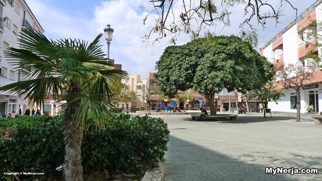 Improvement Works In Plaza Marina Nerja