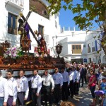 Easter Processions Get Under Way In Nerja