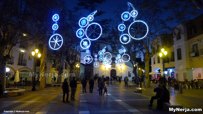 Nerja Christmas Illuminations 2014