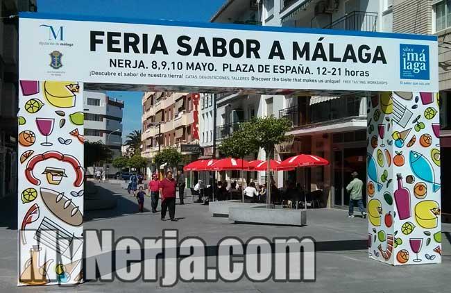 """Nerja """"Feria Sabor A Málaga"""" Food Fair 2015"""