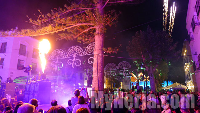 Nerja Feria Starts With Sound & Light Spectacular On The Balcon