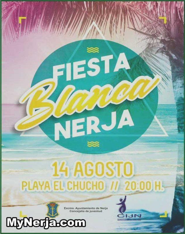 Fiesta Blanca Nerja 2017