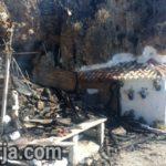 Fisherman's Hut Burns At Calahonda Beach Nerja