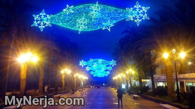 Nerja Christmas Illuminations 2017
