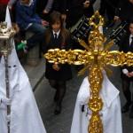 Penitents at Semana Santa Nerja