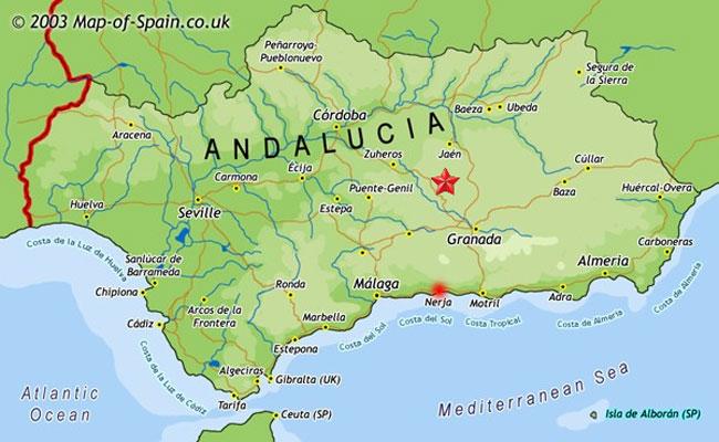nerja spanien karta Karta över våra hotell i Nerja, Spanien   Boka din resa hos Ving nerja spanien karta