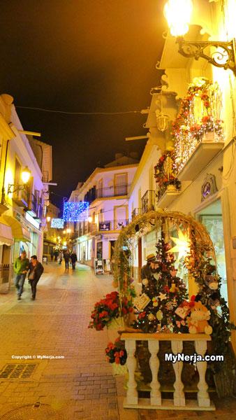 <!--:en-->Calle Pintada Nerja Christmas Lights<!--:-->